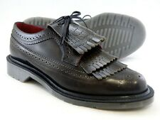 Dr. Martens Women`s Elizabeth MIE Tassel Leather Brogue Grey US 9 EU 41 UK 7