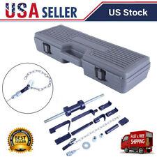 13PCS Slide Hammer Dent Puller 13LBS Auto Body Dent Repair Bearing Axel Remover