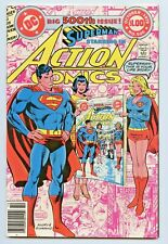 DC ACTION COMICS #500 HIGH GRADE NM ANNIVERSARY INFINITY COVER - SUPERMANS LIFE
