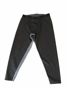 New Mens Terramar 4.0 Extreme Base Layer Pants Black Size XL