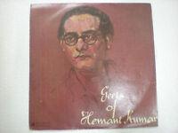 GEETS HEMANT KUMAR 1962 RARE LP RECORD bollywood VG+