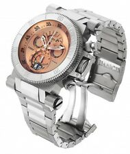InvictA 17641 Coalition Forces Swiss Made   BIG DATE / DAY 100 M COPPER DIAL NEW