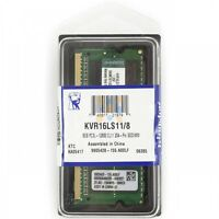 Kingston PC3L-12800 1.35V 8GB DDR3L 1600MHz Notebook Ram Memory KVR16LS11/8 8 GB