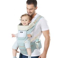 Porte-bébé Ergonomique avec Siège Capuche Amovible Confort et Sécurité Neuf