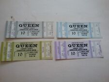 Queen 1977 News Of World Tour Ft Worth Full Ticket Nmnt 4 Diff Pick 1 Rare Vtg!