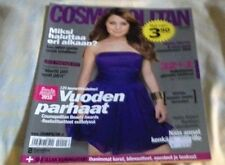 FINLAND COSMOPOLITAN ISSUE 12/2009 ANNA ABREU COVER