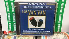 Los Van Van Tres Decadas de Cuba La Habana Joven CD New Nuevo Sealed