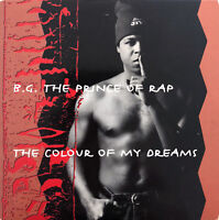 B.G. The Prince Of Rap ‎CD Single The Colour Of My Dreams - France (EX/VG+)
