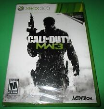 Call Of Duty MW3 with Bonus DLC Xbox 360  Factory Sealed! Free Shipping!