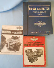 Briggs Stratton parts service data TWIN CYLINDER REPAIR INSTRUCTIONS vanguard x3