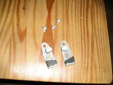 1968 thru 79 VW Bus Front T2 Genuine VW Striker Lock Plates set