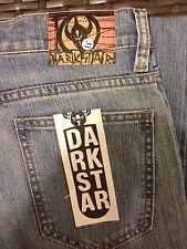 Dark Star, Flowerzou Venison Jeans,  Blue, size 31, New