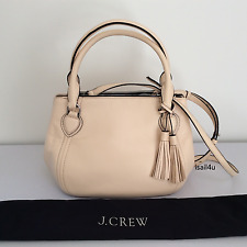 J.Crew Peyton Smooth Leather Satchel Authentic NWT + Dust Bag