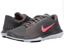 Nike Flex Supreme TR 5 Womens 852467-003 Dark Grey Punch Training Shoes Size 7