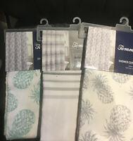 Tommy Bahama Fabric Shower Curtains (See Selections) NEW
