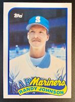 1989 Topps Traded Tiffany #57T RANDY JOHNSON Rookie Seattle Mariners HOF NMT-MT