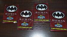 1992 Topps Stadium Club BATMAN RETURNS 15 Premium Movie Cards 5 Sealed Packs