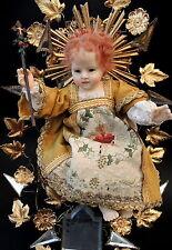 Jesús niño, trösterlein, cabeza de cera, fatschenkind, bambino gesu, wax doll