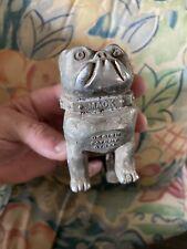 Vintage mack semi truck bulldog hood ornament emblem- HEAVY!! Like 2lb I Think!
