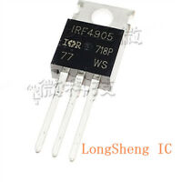 20PCS IRF4905PBF IRF4905 MOSFET P-CH 55V 74A TO-220 NEW HIGH QUALITY new