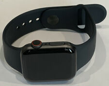 Apple Watch Series 5 MWWQ2LL/A GPS & Cellular 40mm Smartwatch Black Band Great!
