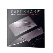 2x ☆ IAIN SINCLAIR ☆ CARDSHARP 2 Credit Card Knife Razor Blade Survival Camping