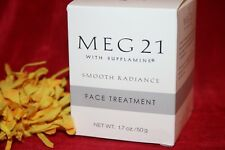 MEG 21 SMOOTH RADIANCE FACE TREATMENT SUPPLAMINE 1.7 OZ IN BOX NEW AUTHENTIC