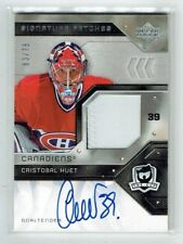 06-07 UD Upper Deck The Cup Signature Patches  Cristobal Huet  /75  Auto  Patch