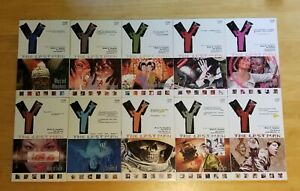 Y: The Last Man - Vertigo Comics TPB Set, Vol. 1-10 | very good condition