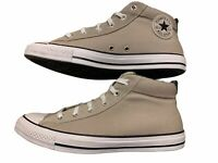 Converse Chuck Taylor All Star Street Mid Shoes Papyrus White / Black Size 12