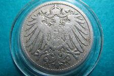 GERMANY, Antique 1899  Deutsches  Reich  10  PFENNIG Coin, Fine Circulated