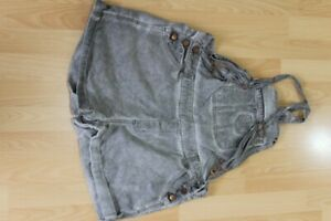 L3402 Janina Latzhose kurz Jeans 42  grau  Gut