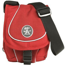 Crumpler Crisp E 950 Compact Camera Media Pouch Case - Red/Dark Red/Silver