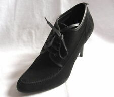 J.CREW NEW IN BOX WOMEN'S SUDED SHOES Color:Black Size:7.5 Retail:$265