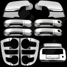 For Ford Explorer 2007-09 Chrome Covers Mirror 4 Door w/PS KH Tailgate Taillight