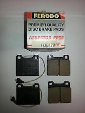 For BMW 3 SERIES E30 BRAKE PADS VA500 PBDF660