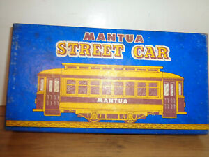 MANTUA HO SCALE VINTAGE STREET CAR KIT STILL UNASSEMBLED AND BOXED