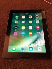 Apple iPad 4th Generation 16GB, Wi-Fi  only 9.7in - black not locked