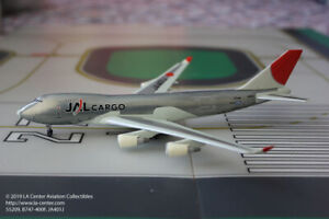 Dragon Wings Japan Airlines Cargo Boeing 747-400F Polished Color Model 1:400