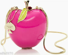 KATE SPADE CLUTCH! :) Far From the Tree RESIN APPLE CLUTCH! :) NWT/Dustbag :)