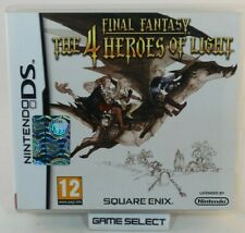 Final Fantasy the 4 Heroes of Light Four DS 2ds 3ds PAL ITA Italian Complete