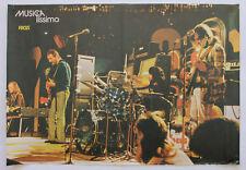 Vintage 70's FOCUS Original Poster/ Portuguese Music Magazine MUSICAlíssimo