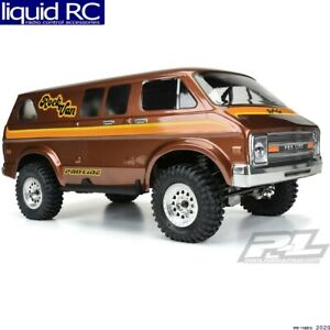 Pro-Line 3552-00 70 s Rock Van Clear Body for 12.3 WB Crawlers