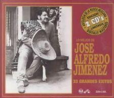 NEW Lo Mejor de Jose Alfredo Jimenez: 33 Grandes Exitos (Audio CD)
