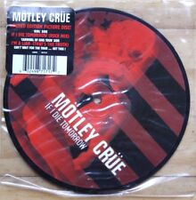 "NEW! MOTLEY CRUE IF I DIE TOMORROW  7"" VINYL PICTURE DISC 45"