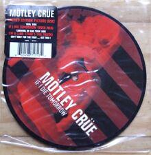 """NOUVEAU! Motley Flood si je meurs demain 7"""" vinyl Picture Disc 45"""