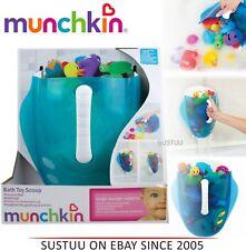 Munchkin Kids Bath Toy Drain and Storage Scoop & Wall Mount Bathtime Organiser