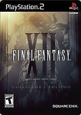 Final Fantasy XII: Collector's Edition GameStop Exclusive (Sony PlayStation 2, 2006)