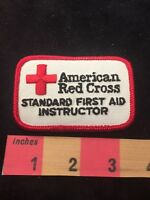 STANDARD FIRST AID INSTRUCTION American Red Cross Patch 86N9