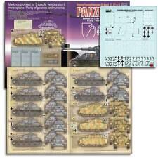 Echelon FD ATX351007, 1/35 autocollants pour LAH Pz. Iv (ausf F1 & F2s) & HG Pz. Iv Ausf G